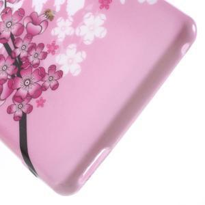 Emotive gélový obal pre Sony Xperia M4 Aqua - kvitnúce vetvička - 4