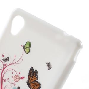 Emotive gélový obal pre Sony Xperia M4 Aqua - motýľe - 4
