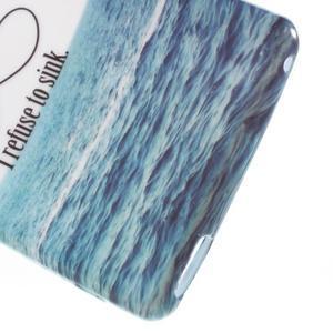 Emotive gélový obal pre Sony Xperia M4 Aqua - kotva - 4