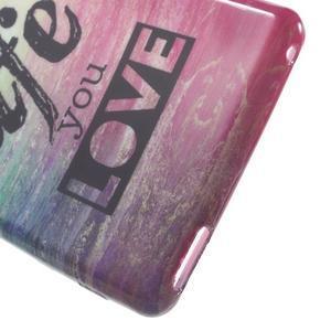 Emotive gelový obal na Sony Xperia M4 Aqua - love - 4