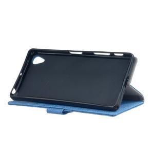 Texture pouzdro na mobil Sony Xperia X - modré - 4