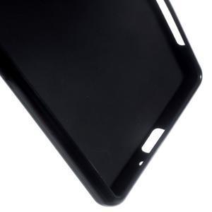 Matný gelový obal na mobil Sony Xperia X - černý - 4