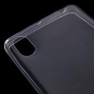 Ultratenký 0.5 mm gélový obal pre Sony Xperia X - transparentné - 4