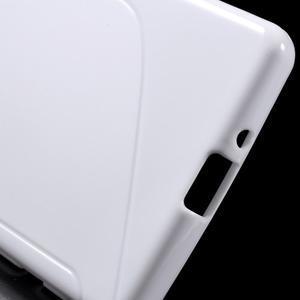 S-line gelový obal na Sony Xperia X - bílý - 4