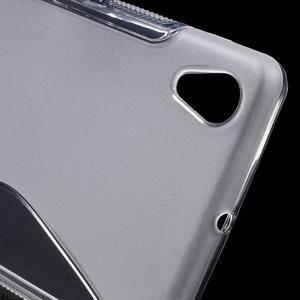 S-line gélový obal pre Sony Xperia X - transparentné - 4