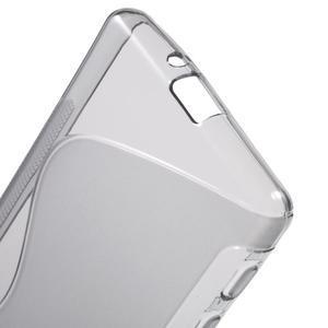 S-line gelový obal na Sony Xperia X - šedý - 4