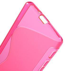 S-line gélový obal pre Sony Xperia X - rose - 4