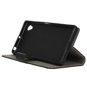 Walle Peňaženkové puzdro pre Sony Xperia X - čierne - 4
