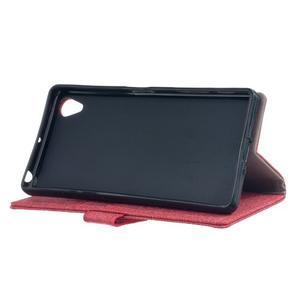 Texture pouzdro na mobil Sony Xperia X - červené - 4