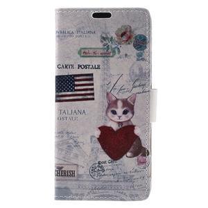 Emotive puzdro pre mobil Sony Xperia X Performance - US mačička - 4
