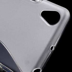 S-line gélový obal pre mobil Sony Xperia X Performance - transparentné - 4