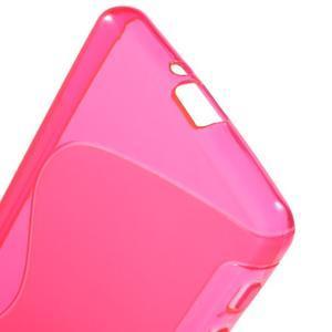 S-line gélový obal pre mobil Sony Xperia X Performance - rose - 4
