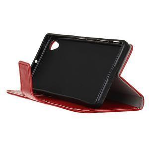 Horse peněženkové pouzdro na Sony Xperia X Performance - červené - 4