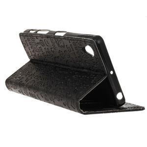 Cartoo peňaženkové puzdro pre Sony Xperia X Performance - čierne - 4