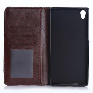 Jeans peněženkové pouzdro na mobil Sony Xperia XA - tmavěmodré - 4