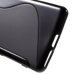 S-line gélový obal pre mobil Sony Xperia XA - čierny - 4
