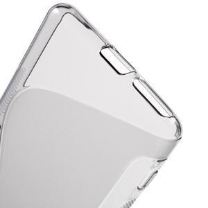 S-line gélový obal pre mobil Sony Xperia XA - sivý - 4