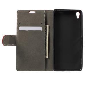 Cardy puzdro pre mobil Sony Xperia XA - červené - 4