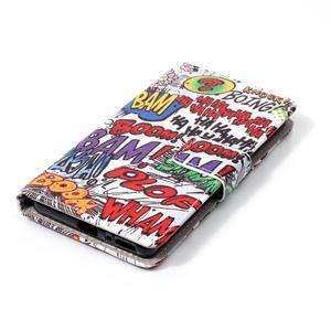 Emotive PU kožené knížkové puzdro pre Sony Xperia XA - boom - 4
