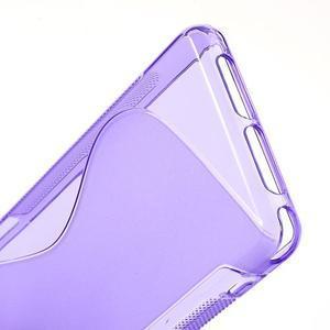 Gélové S-line puzdro pre Sony Xperia Z1 Compact - fialové - 4