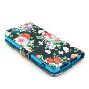 Puzdro pre mobil Sony Xperia Z1 Compact - kvetinová koláž - 4