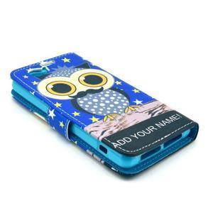 Puzdro na mobil Sony Xperia Z1 Compact - sova s vousem - 4