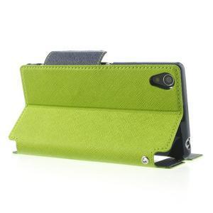 Okýnkové pouzdro na mobil Sony Xperia Z1 - zelené - 4