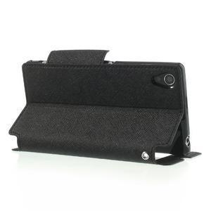 Okýnkové pouzdro na mobil Sony Xperia Z1 - černé - 4