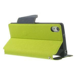 Okýnkové puzdro pre mobil Sony Xperia Z2 - zelené - 4