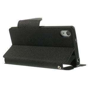 Okýnkové puzdro pre mobil Sony Xperia Z2 - čierne - 4