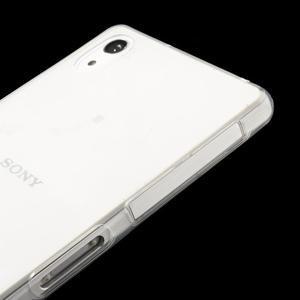 Ultratenký slim gélový obal pre mobil Sony Xperia Z2 - transparentné - 4