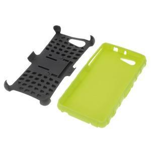 Odolný ochranný kryt na Sony Xperia Z3 Compact - zelený - 4