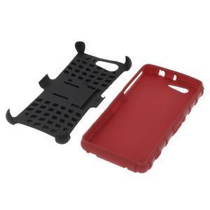 Odolný ochranný kryt pre Sony Xperia Z3 Compact - červený - 4
