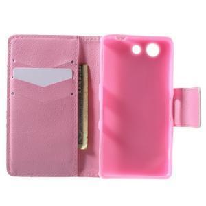 Pictu Peňaženkové puzdro pre Sony Xperia Z3 Compact - vtáčik v kleci - 4