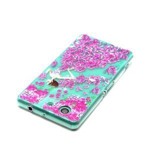 Gelový obal na mobil Sony Xperia Z3 Compact - motýlí dívka - 4