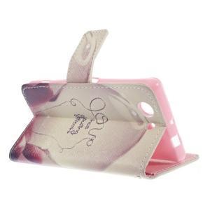 Knížkové puzdro pre mobil Sony Xperia Z3 Compact - love - 4