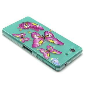 Gélový obal pre mobil Sony Xperia Z3 Compact - motýľkové - 4