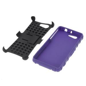 Odolný ochranný kryt pre Sony Xperia Z3 Compact - fialový - 4