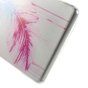 Ultratenký gelový obal na mobil Sony Xperia Z3 - peříčko - 4