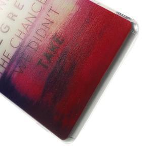 Ultratenký gélový obal pre mobil Sony Xperia Z3 - regret - 4