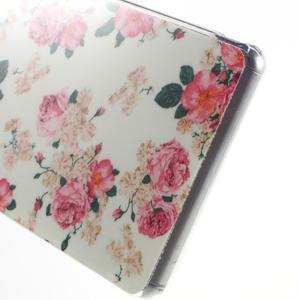 Gélový obal pre mobil Sony Xperia Z3 - kvetiny - 4