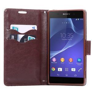 Květinové pouzdro na mobil Sony Xperia Z3 - černé - 4