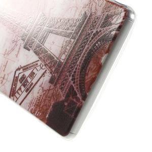 Ultratenký gélový obal pre mobil Sony Xperia Z3 - Eiffelova veža - 4