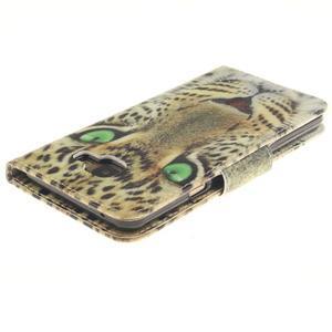 Patt peňaženkové puzdro pre Samsung Galaxy A3 (2016) - leopard - 4