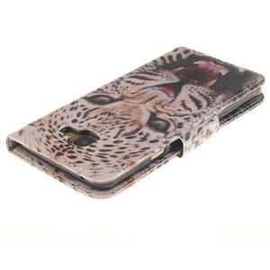 Patt peňaženkové puzdro pre Samsung Galaxy A3 (2016) - leopard se zoubky - 4