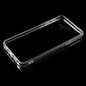 Zrcadlový gélový kryt pre Samsung Galaxy A3 (2016) - čierný - 4