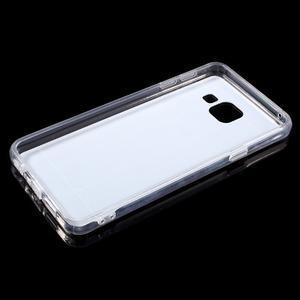 Zrcadlový gélový kryt pre Samsung Galaxy A3 (2016) - strieborny - 4