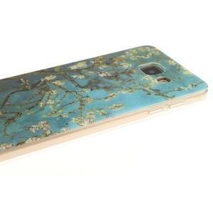 Silk gelový kryt na mobil Samsung Galaxy A3 (2016) - rozkvetlý strom - 4