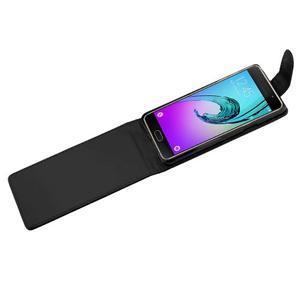 Flipové puzdro pre mobil Samsung Galaxy A3 (2016) - čierne - 4
