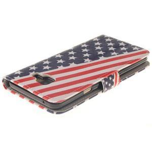 Puzdro pre mobil Samsung Galaxy A3 (2016) - US vlajka - 4